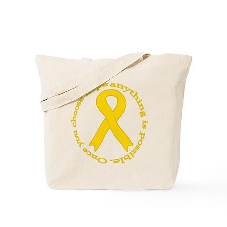 Gold Hope Tote Bag