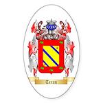 Teran Sticker (Oval 10 pk)