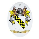 Tepper Oval Ornament