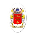 Teodorovich 35x21 Oval Wall Decal