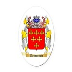 Teodorovic Oval Car Magnet