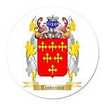 Teodorovic Round Car Magnet