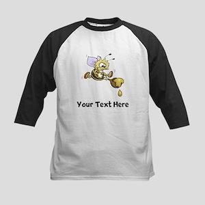Bee And Honey (Custom) Baseball Jersey