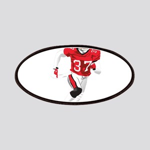 American football player play Patch