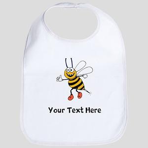 Happy Bee (Custom) Bib