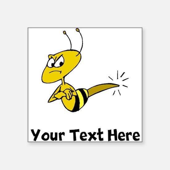 Angry Bee (Custom) Sticker