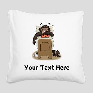 Bedbug (Custom) Square Canvas Pillow