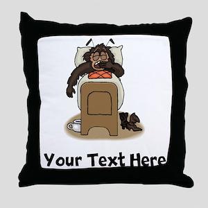 Bedbug (Custom) Throw Pillow