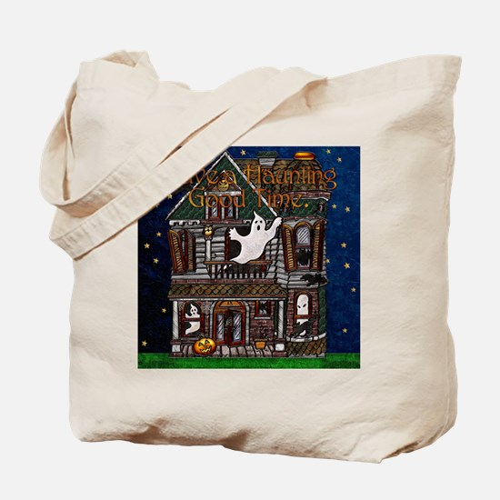 Harvest Moon's Haunted House Tote Bag