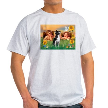 Two Angels / Boston (#3) Light T-Shirt