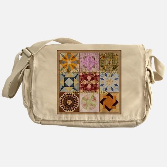 Harvest Moons Quilts Messenger Bag