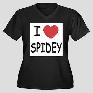 I heart spidey Plus Size T-Shirt