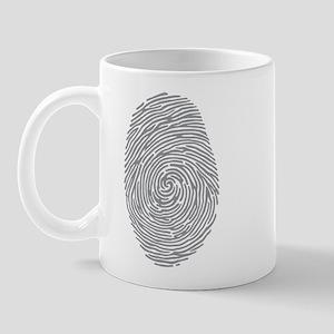fingerprint Mug