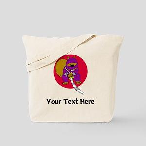 Ninja Beaver (Custom) Tote Bag