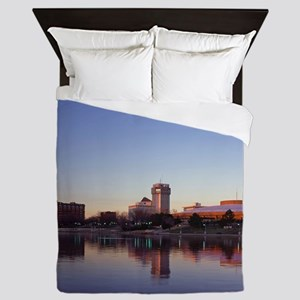 Skyline Large Poster Queen Duvet