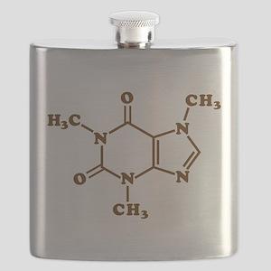 Caffeine Molecular Chemical Formula Flask