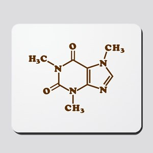 Caffeine Molecular Chemical Formula Mousepad