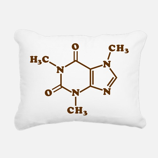 Caffeine Molecular Chemical Formula Rectangular Ca