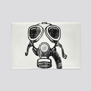gas mask Rectangle Magnet