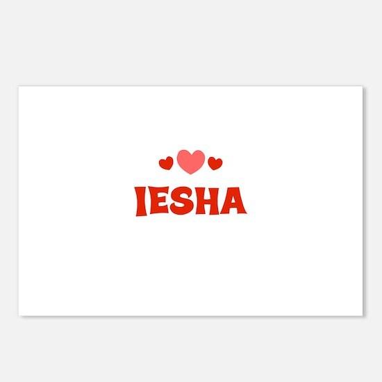 Iesha Postcards (Package of 8)