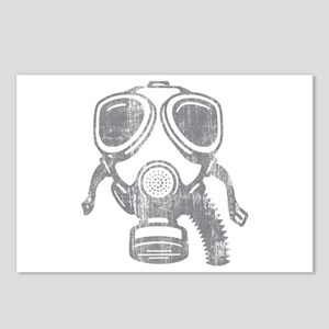 gas mask Postcards (Package of 8)