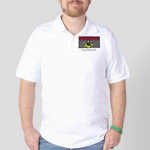 Zombie Jesus Started it. Golf Shirt