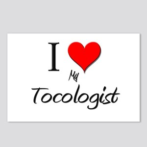 I Love My Tocologist Postcards (Package of 8)