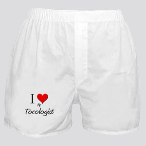 I Love My Tocologist Boxer Shorts