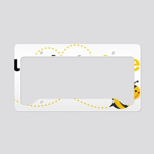 Uncle To Bee License Plate Holder