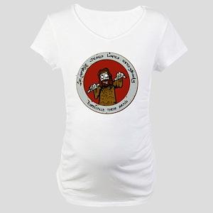 Zombie Jesus Loves Everybody... Maternity T-Shirt