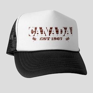 Vintage / Weathered Canada Est 1867 Trucker Hat