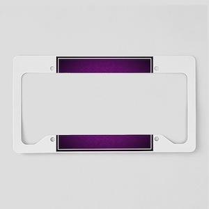 Purple dragon design License Plate Holder