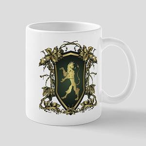 Griffin shield design Mugs