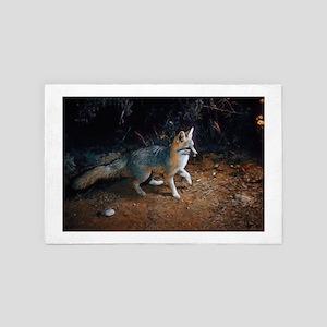 Gray Fox 4' x 6' Rug