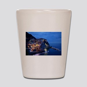 Italy Cinque Terre Tourist destination Shot Glass