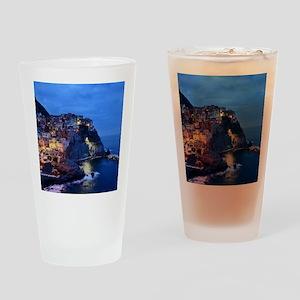 Italy Cinque Terre Tourist destinat Drinking Glass