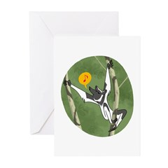 Indri Song Blank Greeting Cards (pk Of 10)