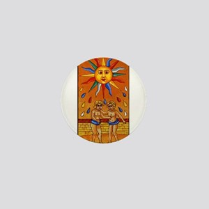 sun tarot card Mini Button
