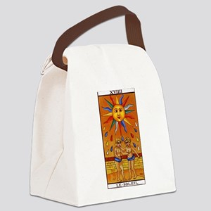 sun tarot card Canvas Lunch Bag