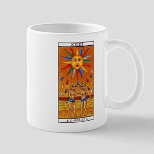 sun tarot card Mugs