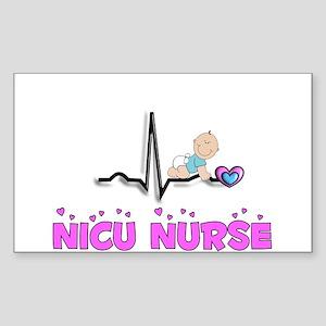 MORE NICU Nurse Sticker