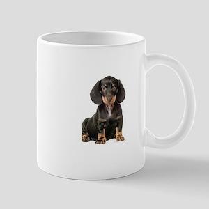 puppy dachound Mugs
