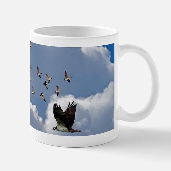 Birds in flight Mug