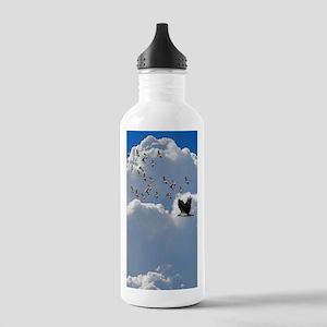 Birds in flight Stainless Water Bottle 1.0L