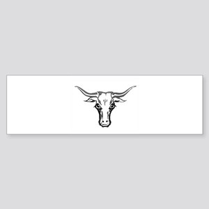 Longhorn Steer Bumper Sticker