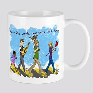 Changing the world one walk at a time Mug