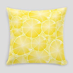 Lemons Everyday Pillow