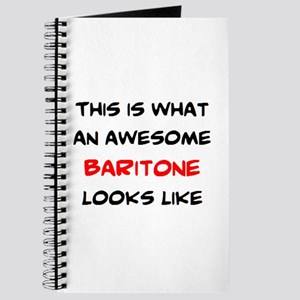 awesome baritone Journal