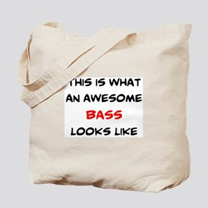 awesome bass Tote Bag