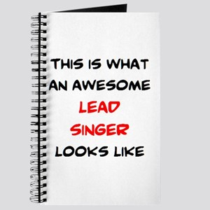 awesome lead singer Journal